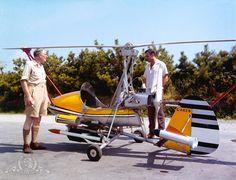 James Bond's gadget : Wallis WA-116 Series 1 gyroplane, codename Little Nellie (You Only Live Twice)