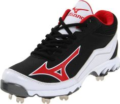 Mizuno Men's 9-Spike Swagger Mid Baseball Cleat - Price: View Available Sizes & Colors (Prices May Vary) Buy It Now Mizuno Men's 9Spike Swagger Mid Metal Baseball Cleats Suede and dynamic synthetic leather overlays for lightweight comfortable feel. Parallel Wave technology provides...