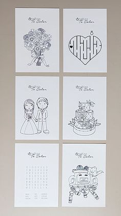 Keeping Kids Busy At Weddings Is Not An Easy Task But These Printable Coloring Sheets Are Only Chic Theyre Also Fun To Color Get FREE