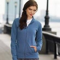 Ladies French Terry Raglan-Sleeve Cadet Jacket