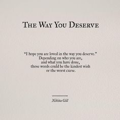 the way you deserve.                                                                                                                                                     More
