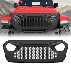 Great grille Upgrade. Unique design, fartory price. Great-looking, well-constructed front grille for your 2018 Jeep Wrangler JL.