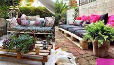 Résultats de recherche d'images pour «muebles para jardin reciclados»