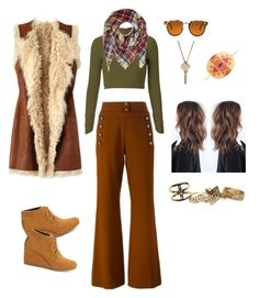 """""""Beau-hemian I; casual"""" by kat-taormina on Polyvore featuring Chloé, Figue, TOMS, Spitfire, The Giving Keys and Wet Seal"""
