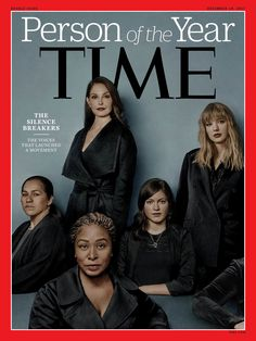 #MeToo Movement Is Person Of The Year, 'Time' Says : The Two-Way : NPR