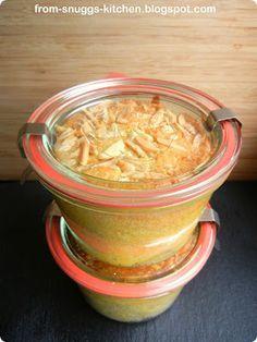 from-snuggs-kitchen: Apfelkuchen im Glas