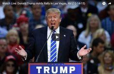 Donald Trump Rally, Las Vegas, NV (12-14-15)