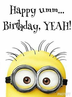 Image in Happy Birthday collection by Ondra Aprilliano Happy Birthday Video, Happy Birthday Minions, Cute Happy Birthday, Happy Birthday Images, Happy Birthday Greetings, Birthday Pictures, Birthday Greeting Cards, Birthday Wishes Quotes, Birthday Messages