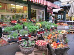 Bauernmarkt Yppenplatz - Ottakring Central Europe, Vienna, Good Food, Austria, Travel, Urban, Spaces, Ideas, Fiestas