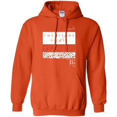 Twenty One Tshirt Pilot Rectangles T-Shirt-01 Pullover Hoodie 8 oz