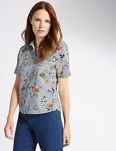 Pure Cotton Dobby Shirt
