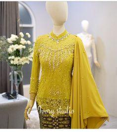 Hijab Gown, Kebaya Hijab, Hijab Dress Party, Hijab Style Dress, Kebaya Dress, Batik Kebaya, Dress Pesta, Kebaya Muslim, Blouse Dress