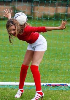 Jade modeling for football :) xx ♥♥♥