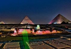 Sound and Light show at Giza Pyramids - EMO TOURS EGYPT