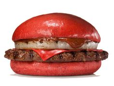 Burger King Is Releasing A Bright Red Cheeseburger