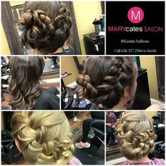 Homecoming hair by Kristin Sullivan 636.527.2566