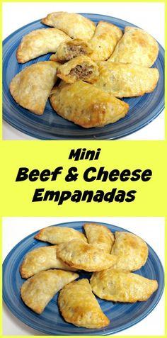 Mini Beef & Cheese Empanadas- SO amazing!!