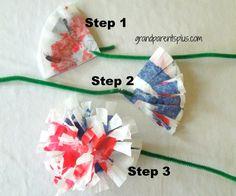 4th of July Toddler Crafts  www.grandparentsplus.com