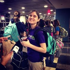The Outreach360 Minimester Trip to Nicaragua gets ready to board their plane!