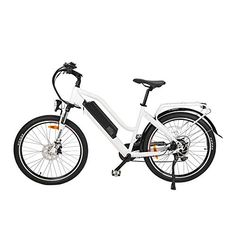 Electric Bicycle for Outdoor and Indoor, Electric Mountain Bike for Mountain Climbing Shimano 7 Speed Gear 25MPH Removable 48v/17.5ah Lithium Battery Thumb Throttle Riding with Green Power,...