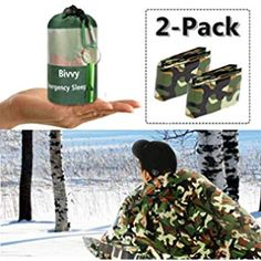 Notfall Survival Outdoor Kit Schlafsac ~I