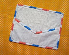 Airmail Binding by NYROTM_rachel | Quilting Pattern - Looking for a quilting pattern for your next project? Look no further than Airmail Binding from NYROTM_rachel! - via @Craftsy