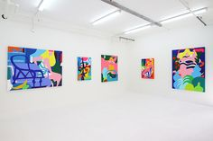"Vivid & Colorful: Todd James ""Afternoon Delight"" Exhibition AT AISHONANZUKA 