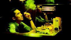 During the Hong Kong Second Wave film director Wong Kar-Wai reached prominence in the world of cinema, gaining recognition from film critics. Skyfall, Noir Color, Hong Kong Movie, Science Fiction Authors, Film Movie, Movies, Film Director, Film Photography, Short Film