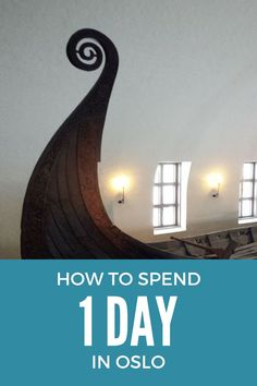 Travelling to Oslo ? This post will give you tips on how To Spend 1 Day In Oslo- If you are backpacking around Europe, and have limited time in every city or you will spend your time to visit other places in Norway - This is the post to read about how to
