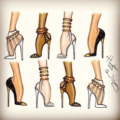 New fashion shoes illustration sketches hayden williams ideas Illustration Mode, Fashion Illustration Sketches, Fashion Sketches, Art Illustrations, Fashion Illustration Tutorial, Croquis Fashion, Hayden Williams, Fashion Art, Trendy Fashion