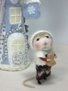 PDF Tutorial Needle Felted Animal Dressed Mouse & by barby303, $45.00