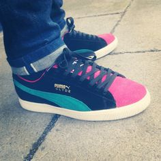 Clyde tri for a funky Friday by puma