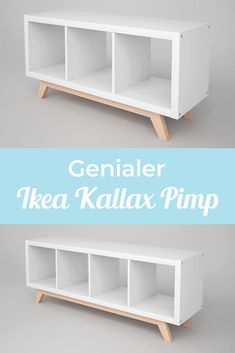 The IKEA Kallax line Storage furniture is a vital element of any home. They supply order and help you hold track. Trendy and wonderfully easy the rack Kallax from Ikea , for example. Etagere Kallax Ikea, Ikea Kallax Shelf, Ikea Kallax Hack, Ikea Kallax Regal, Ikea Storage, Ikea Shelf Hack, Ikea Shelves, Ikea Design, Retro Furniture