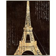 """Paris Wood 38 1/2"""" High Framed Wall Art - #W9342 ($250) ❤ liked on Polyvore"""