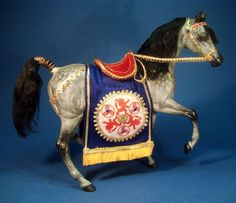 The King's Horse OOAK Customized Breyer Model, by Deb Mackie... 125.00, via Etsy.