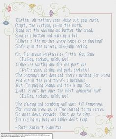 Babies Don't Keep PDF cross stitch pattern. $10.00, via Etsy.