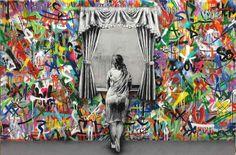 stencil y graffiti
