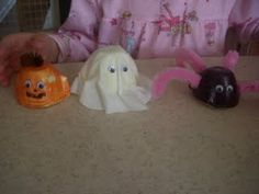 halloween egg carton crafts