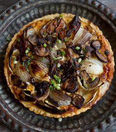 Recipe: Onion and Mushroom Tart