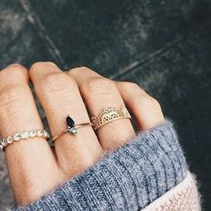 Don't wear rings but I like these