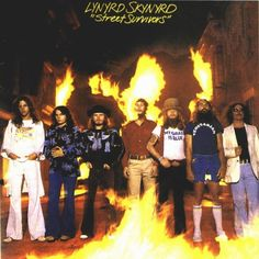 The original 'Street Survivors' cover...Lynyrd Skynyrd plane crashed 10/20/77