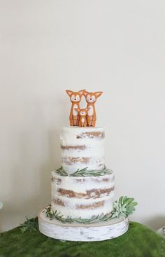 DIY WEDDING CAKE TUTORIAL | Parties and Events | Pinterest | Diy ...