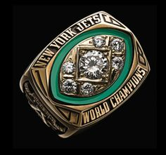 Super Bowl III Championship Ring