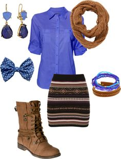 """Fall for Denim"" by danicashea on Polyvore"