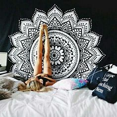 Cheap hanging wall tapestries, Buy Quality wall hanging tapestry directly from China wall tapestry Suppliers: Indian Bohemian Mandala Wall Hanging Tapestry 200*140 Wall Hanging Sandy Beach Blanket Camping Travel Mattress Hippie Tapestry