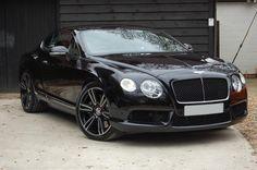 Eric's car. A Bentley Continental GT V8.