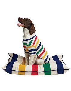 hudson bay dog bed ~ for the boat Hudson Bay Blanket, Cutest Dog Ever, Dog Coats, Shelter Dogs, Dog Supplies, Dog Bed, Puppy Love, Best Dogs, Cuddling