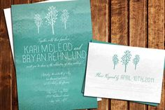 Watercolor Invites Ideas