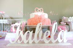 Docinhos da Avó - Cake and Party Design: Batizado da princezinha Isabela, decoração de mesa...