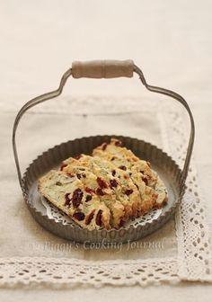 Piggy's Cooking Journal: Cranberry and Pumpkin Seeds Biscotti